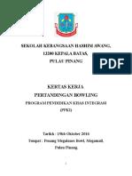 contoh kertas kerja Terapi Bowling Sk Hashim Awang