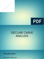 Decline Curve Analysis