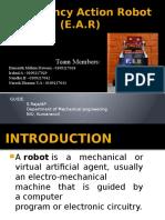 Emergency Action Robot (E