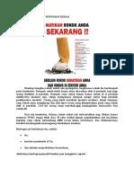 Bahaya Rokok Dan Minuman Keras