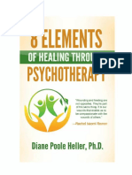 8 Elements of Healing Through Psychotherapy f