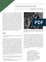 Balance del sistema financiero Peruano 2008