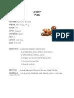Lesson Plan Cl 2