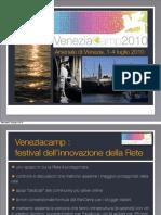 Presentazione Venezia Camp Milano Giornata dell'innovazione