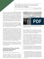 Análisis del uso del canon minero en inversiones de infraestructura urbana en Arequipa
