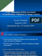 IMB Risk Assessment Presentation - 30 Sep 04