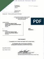 10-13-2016 ECF 1438 USA v RYAN BUNDY - Notice Titled Writ Prohibitio