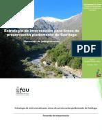 Memoria de Titulo - Estrategia de Intervencion Para Areas de Preservacion