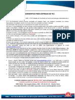 Procedimentos Para Entrega de TCC - UNICID