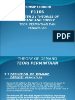 BAB 2 Theories of Demand and Supply