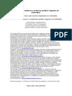 Delitos Informáticos y Entorno Jurídico Vigente en Colombia