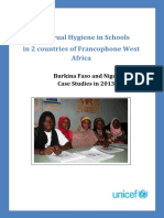 MHM Study Report Burkina Faso and Niger English Final