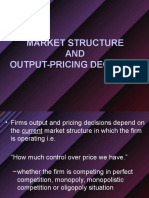 BAB 7 Market Structure and Output Pricing Decisions