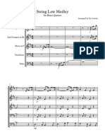 Swing Low Medley - Score and Parts