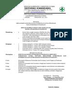 1. SK Kebijakan Dan Prosedur Komunikasi Dan Koordinasi Program