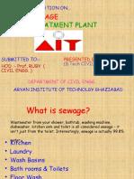 Anuj Sewage Treatment Plant