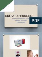 SULFATO FERROSO