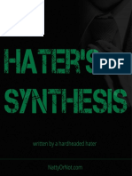 A Hater s Synthesis