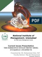 Presentation by Hilal