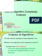 Algo Complexity Analysis