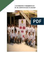 Protocolo de Principios y Fundamentos de Bioseguridad Del Hospital