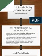 Principios de La Ley Medioambiental