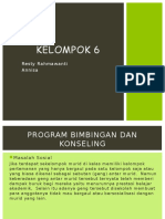 Kelompok 6 BK program bimbingan