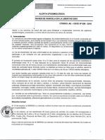 ALERTA EPIDEMIOLOGICA N° 006-2016