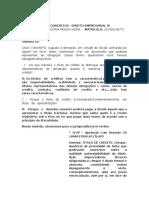 Direito Empresarial - Casos 1 Ao 5