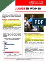 Tb Women Factsheet 251013