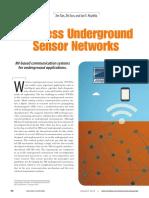 Wireless Underground Sensor Rnet Wors