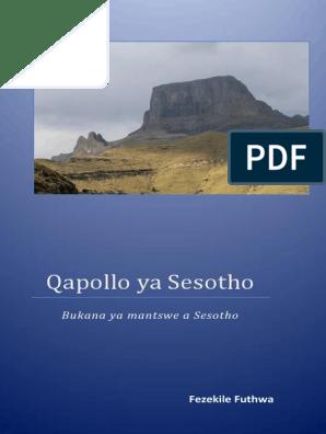 Qapollo Ya Sesotho - ZA