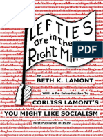 Lefties Are in Their Right Minds - By Beth K Lamont