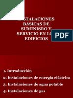 05 Instalaciones en Los Edificios(I)