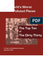 WORST POLLUTED PLACE Report2007