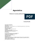 Mouffe,Chantal Agonística