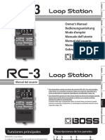 Boss RC-3 Manual Español