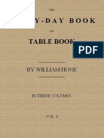 The Every-day Book and Table Book, v. 1 (of 3) by William Hone