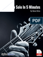 Learn to Solo in 5 Minutes Tab Book Online