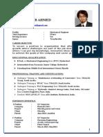 Shadab Mechanical Engineer