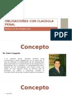 Obligaciones Con Clausula Penal