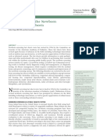 2006 Introduction to the Newborn Screening Fact Sheets. PED