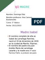 TRABAJO MADRE ISABEL.docx