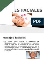 Masajes faciales
