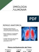 SIMIOLOGIA PULMONAR