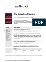 Kaplan & Norton; Getabstract - The Execution Premium; Linking Strategy To Operations For Competitive Advanta.pdf