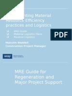 MRE and Logistics