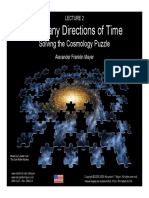 The Many Directions of Time