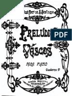Aita Donostia Preludios Vascos 1