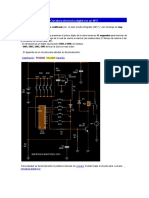 Cerradura Electrónica Digital Con Un 4017